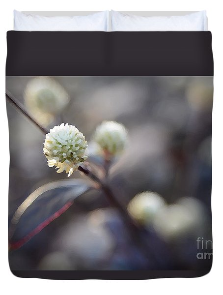 Flower Bokeh Duvet Cover