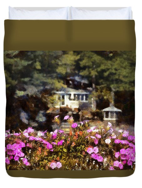Flower Box Duvet Cover