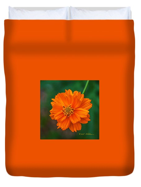 Flower Color Duvet Cover by Edward Peterson