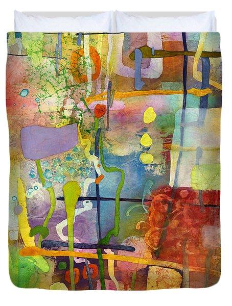 Flower Dance Duvet Cover