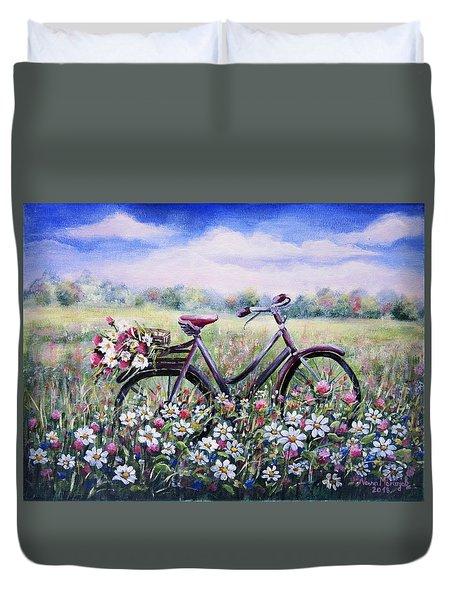 Flower Day Duvet Cover