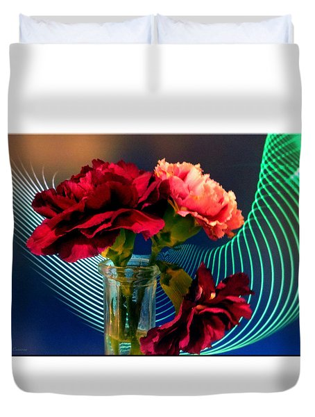 Flower Decor Duvet Cover