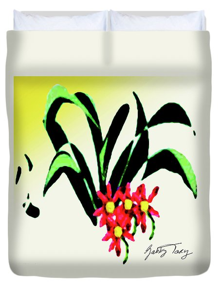 Flower Design #2 Duvet Cover
