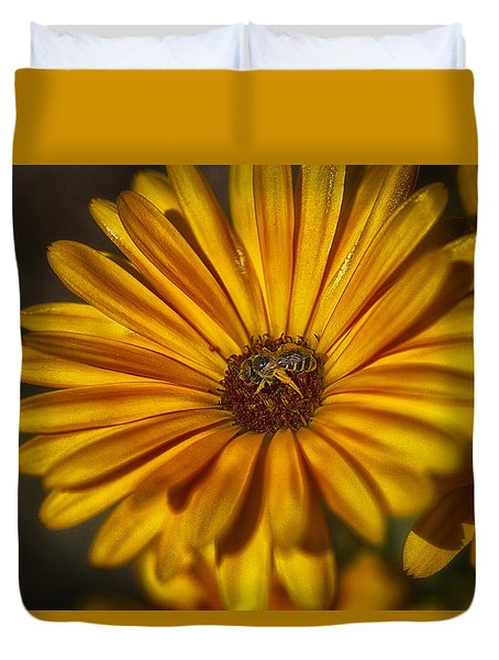 The Flower Inspector Duvet Cover