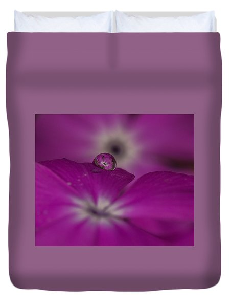 Flower Drop Duvet Cover
