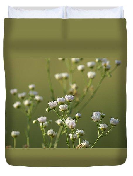Flower Drops Duvet Cover