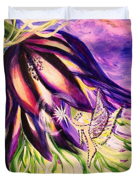 Flower Faerie Duvet Cover