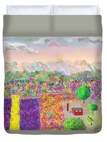 Flower Farm Duvet Cover