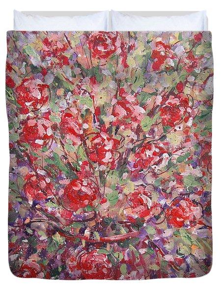 Flower Feelings. Duvet Cover