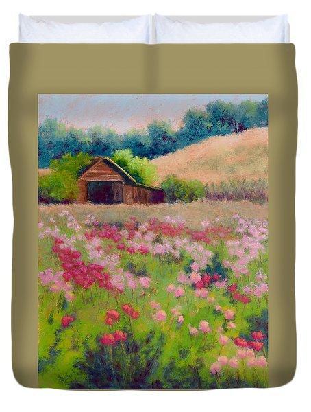 Flower Field Duvet Cover