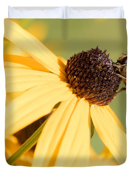Flower Fly Duvet Cover