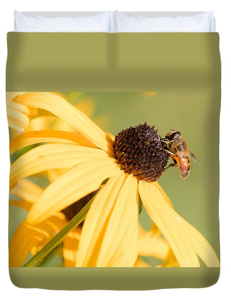 Flower Fly Duvet Cover