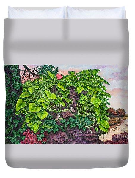 Flower Garden Viii Duvet Cover