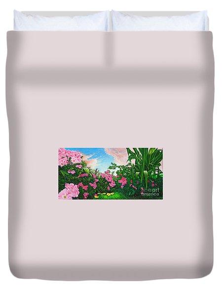 Flower Garden Xi Duvet Cover