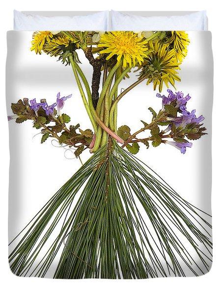 Flower Head Duvet Cover