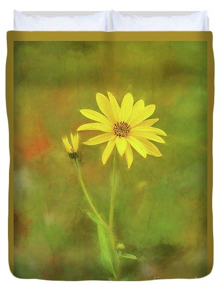 Flower Impression Duvet Cover by Sharon Seaward