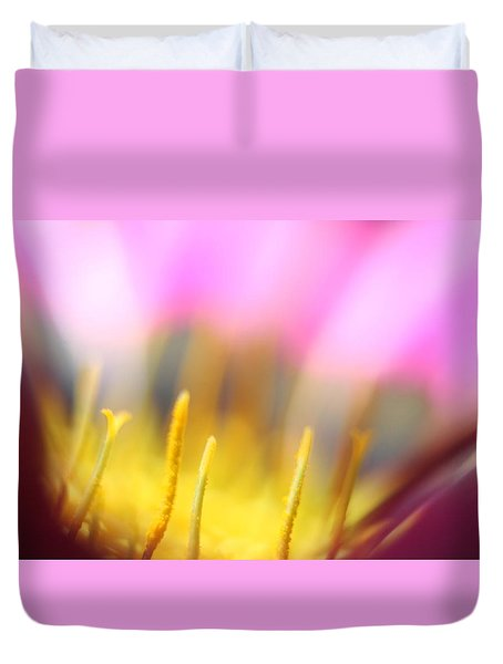 Flower Impressions I Duvet Cover by Martina  Rathgens