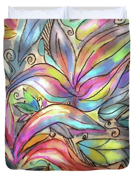 Flower Joy Duvet Cover