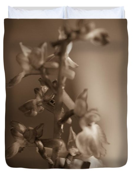 Flower Duvet Cover by Keith Elliott