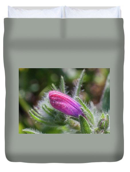 Flower-macro Duvet Cover