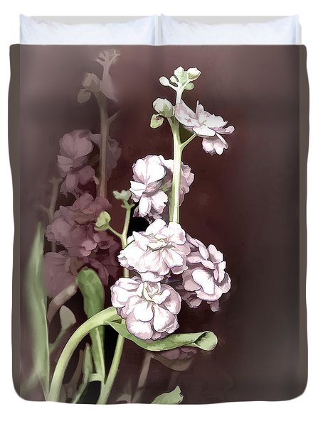 Flower Magic Duvet Cover by Bonnie Willis