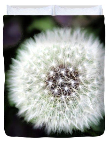 Flower Of Flash Duvet Cover by Mark Ashkenazi