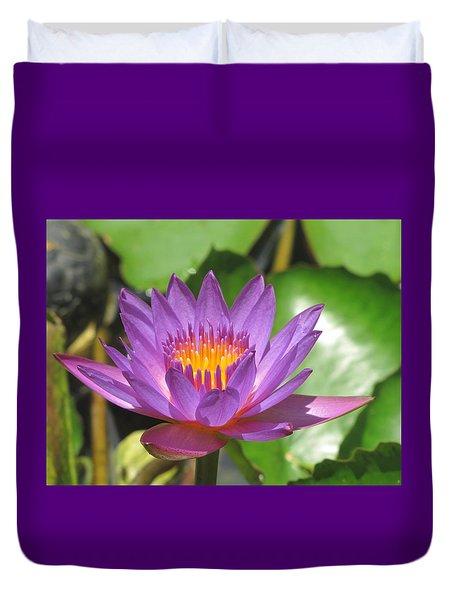 Flower Of The Lilly Duvet Cover