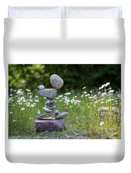 Flower Of Love. Duvet Cover