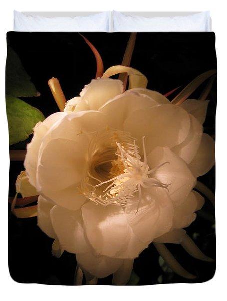Flower Of The Night 01 Duvet Cover
