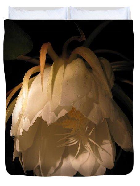 Flower Of The Night 02 Duvet Cover