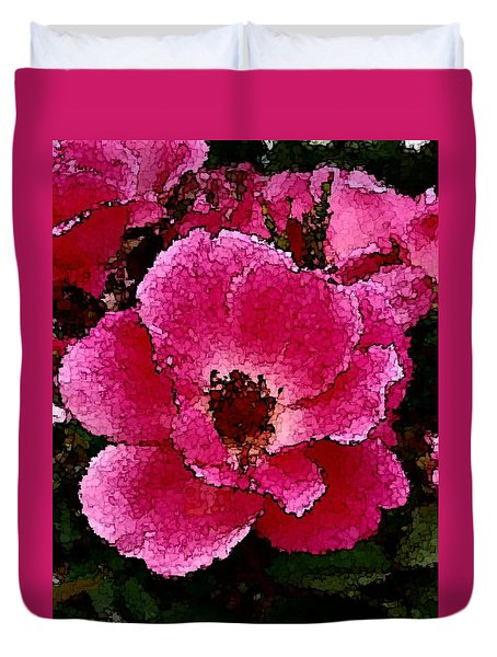 Flower Painting Collection 19 Duvet Cover