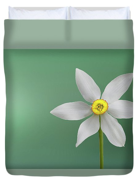 Flower Paradise Duvet Cover
