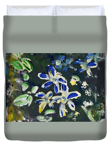 Flower Play Duvet Cover