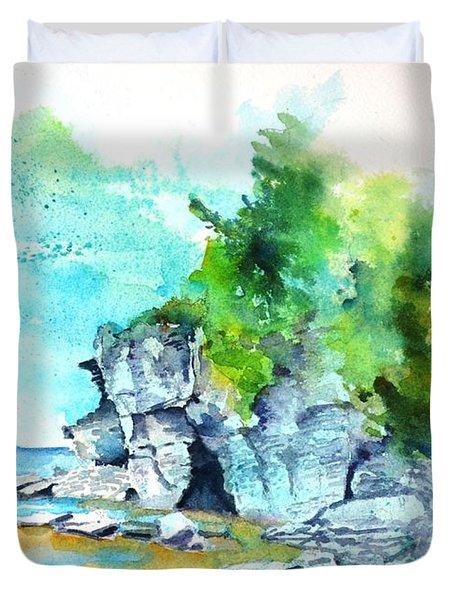 Flower Pot Island Duvet Cover