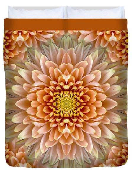 Flower Power Duvet Cover by Sumit Mehndiratta
