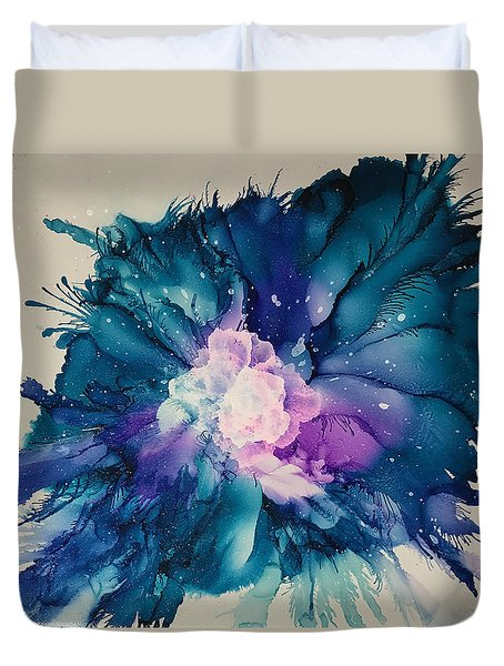 Flower Power Duvet Cover by Suzanne Canner