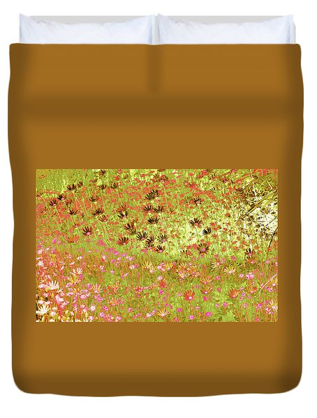 Flower Praise Duvet Cover
