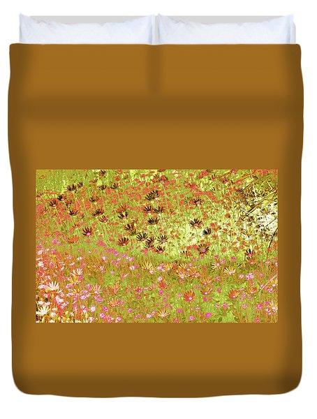 Flower Praise Duvet Cover
