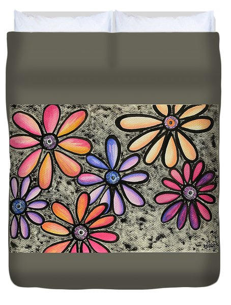 Flower Series 4 Duvet Cover