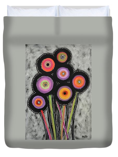Flower Series 6 Duvet Cover