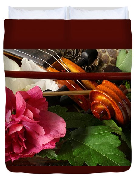 Flower Song Duvet Cover