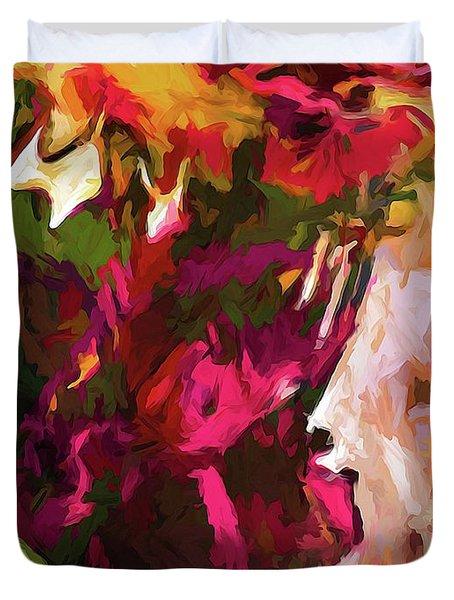 Flower Splash Duvet Cover