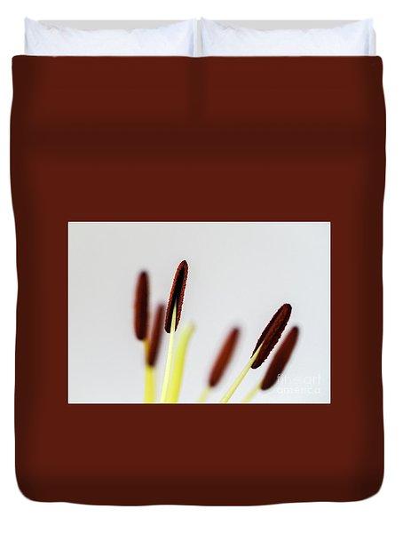 Flower Stalks Duvet Cover