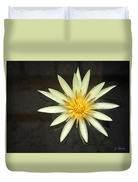Flowerburst Duvet Cover by Joe Bonita