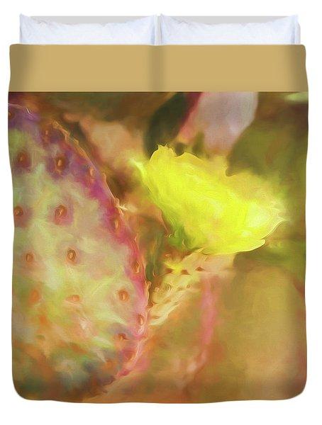 Flowering Pear Duvet Cover