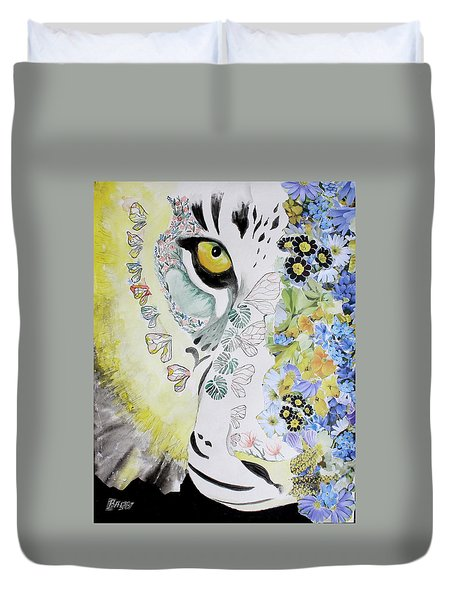 Flowerpower Duvet Cover
