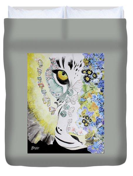 Flowerpower Duvet Cover
