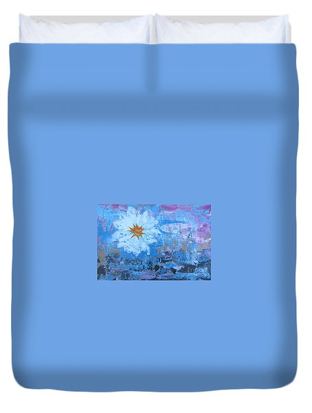 Flowers 19 Duvet Cover by Jacqueline Athmann