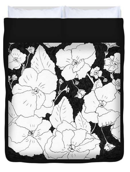 Flowers 4 Duvet Cover