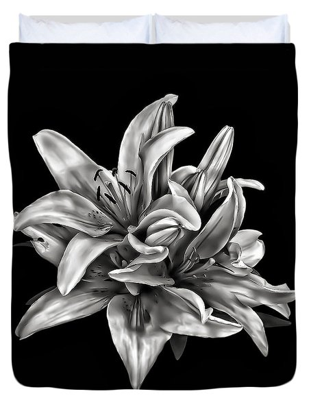 Flowers 8449 Duvet Cover